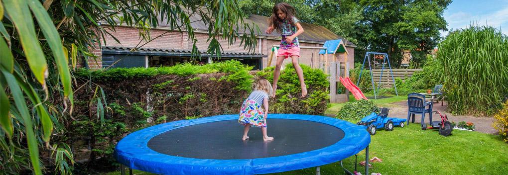 trampoline-springen